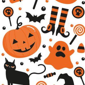sacchetti per biscotti halloween decora