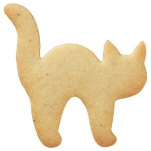 stampino biscotti gatto halloween inox