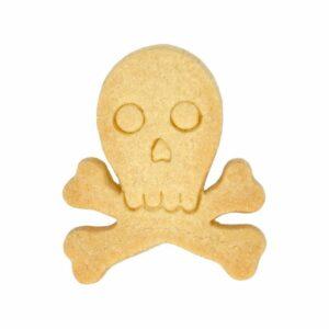 stampino biscotti teschio inox